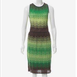 Lightly used Missoni knit chevron dress size 4